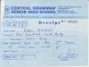 Peter Kweku - rachunek za wpisowe