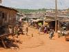Moree (Ghana) - typowa ulica