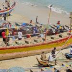 Moree - łodzie rybackie